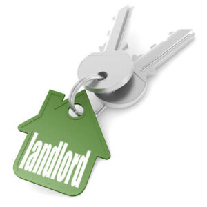 Keychain with landlord
