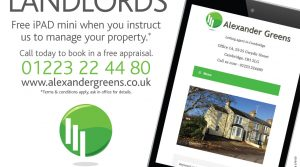 Free iPAD when you instruct us to manage your property*